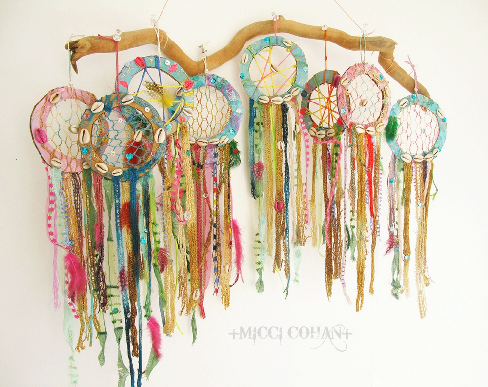 NY Artist Micci Cohan_dream catcher_Boho wall decor